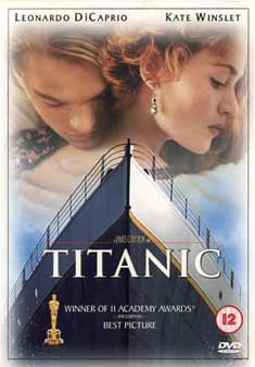 TITANIC (ORIGINAL DI CAPRIO) (DVD) - James Cameron