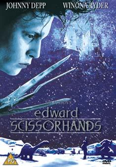 EDWARD SCISSORHANDS (DVD) - Tim Burton