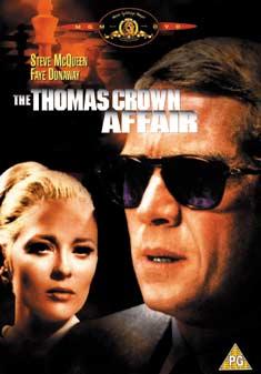 THOMAS CROWN AFFAIR (1968) (DVD) - Norman Jewison
