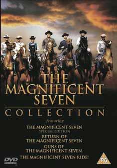 MAGNIFICENT SEVEN BOX SET (DVD) - John Sturges