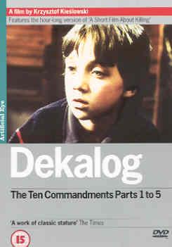 DEKALOG PART 1 (DVD) - Krzysztof Kieslowski
