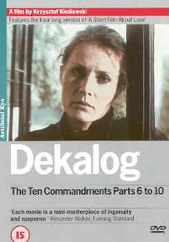 DEKALOG PART 2 (DVD) - Krzysztof Kieslowski