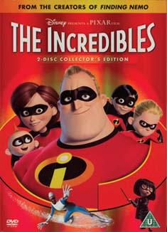 INCREDIBLES (DVD) - Brad Bird
