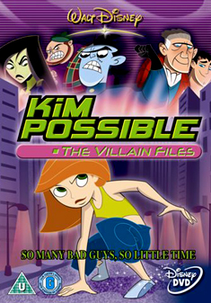 KIM POSSIBLE-VILLAIN FILES (DVD)