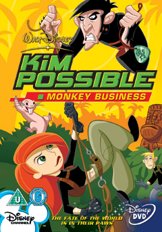 KIM POSSIBLE-MONKEY BUSINESS (DVD)