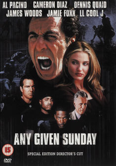 ANY GIVEN SUNDAY (DVD) - Oliver Stone