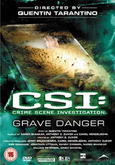 CSI GRAVE DANGER (DVD) - Quentin Tarantino