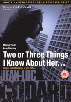 TWO OR THREE THINGS I KNOW AB. (DVD) - Jean-Luc Godard