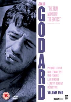 JEAN LUC GODARD BOX SET VOLUME 2 (DVD) - Jean-Luc Godard
