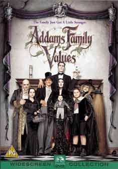 ADDAMS FAMILY VALUES (DVD)