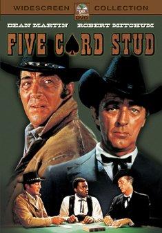 FIVE CARD STUD (DVD) - Henry Hathaway