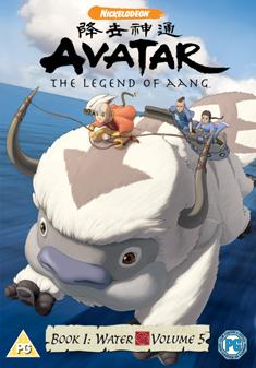 AVATAR BOOK 1 WATER VOLUME 5 (DVD)