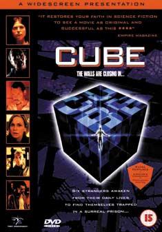 CUBE (DVD) - Vincenzo Natali