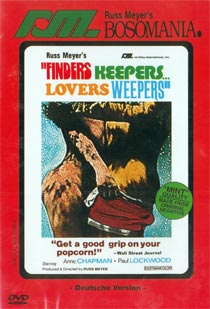 RUSS MEYER - FINDERS KEEPERS... LOVERS WEEPERS (DVD) - Russ Meyer