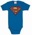 BABYBODY - SUPERMAN - BLAU
