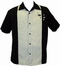 STEADY CLOTHING BOWLING HEMD - CONTRAST CROWN