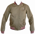 LAMBRETTA HARRINGTON JACKE - NATURAL