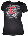 FANCY LETTER T-SHIRT - EMILY THE STRANGE