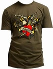 SAILOR JERRY MEN'S T-SHIRT - DEATH BEFORE DISHONOR