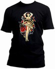 SAILOR JERRY MEN'S T-SHIRT - LADY LUCKY