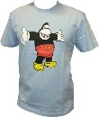 AMOS - KING MICKEY SHIRT - BLUEBELL- MEN