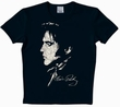 LOGOSHIRT - ELVIS SHIRT  - POTRAIT - BLACK