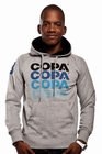 COPA STRIPED LOGO HOODY