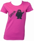 AMOS - DRINK - MAGENTA - GIRL SHIRT