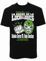 MEXICAN WRESTLING SHIRT BLACK - MEN