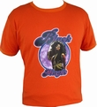 BLACK MAGIC RETRO SHIRT - ORANGE