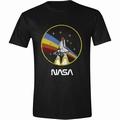 Nasa T-Shirt Rocket Circle