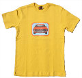 US CAR RETRO SHIRT - GELB