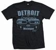 Detroit Bee - Men Shirt Schwarz