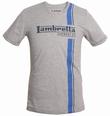 LAMBRETTA SHIRT - STREIFEN GRAU
