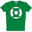 LOGOSHIRT - DC GREEN LANTERN LOGO SHIRT - GREEN