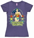Logoshirt - DC Wonder Woman Stars - Girl Shirt