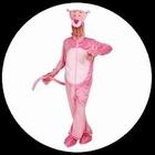 Rosaroter Panther Kostüm