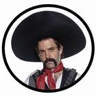 SOMBRERO HUT MEXIKANISCHER BANDIT - GRINGO