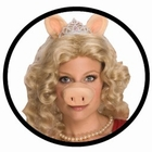 MISS PIGGY NASE MIT PER�CKE SET - THE MUPPETS