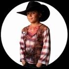 T-Shirt Cowboy - Kinder Kostüm