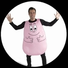 Barbapapa Kostüm - Erwachsene pink