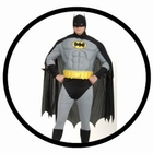 BATMAN KOSTÜM XXL - PLUS SIZE