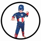 CAPTAIN AMERICA KINDER KOSTÜM