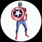 Captain America Morphsuit - Digitales Kostüm
