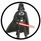 DARTH VADER SUPER DELUXE KINDER KOST�M - STAR WARS