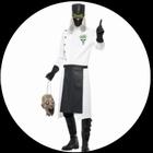 Dr. D Range Kostüm - Verrückter Doktor Kostüm