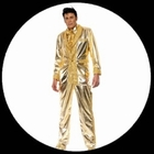 Elvis Kostüm Gold