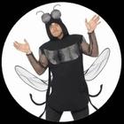 Fliegen Kost�m - Insekt Mosquito