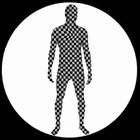 Morphsuit - Schachbrett - Ganzkörperanzug