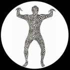 Morphsuit - Zebra - Ganzkörperanzug